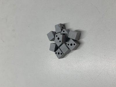 nr.107 Blindverbinding (Dit voor 20/20-1.5) Grijs