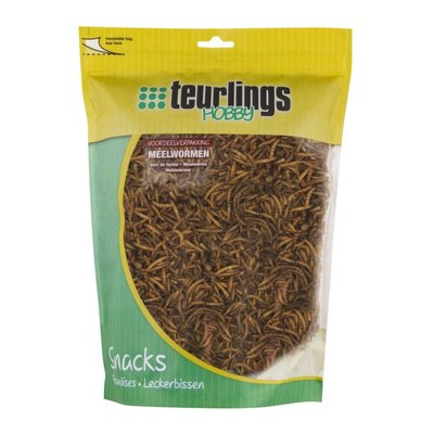 Teurlings Meelwormen gedroogd 500gr