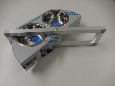 Draaiplato 2 Gaats 13 cm. RVS - INCL Aluminium omlijsting