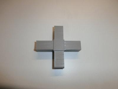 nr.105 4 Poot Kruis  20/20-1.5 Grijs