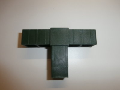 nr.309 T Verbinding  20/20-1.5 Groen