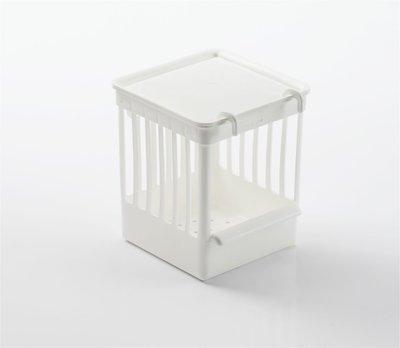 Traliekastje plastje Wit