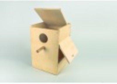 Houten nestkast 25x25x40 cm - bouwpakket